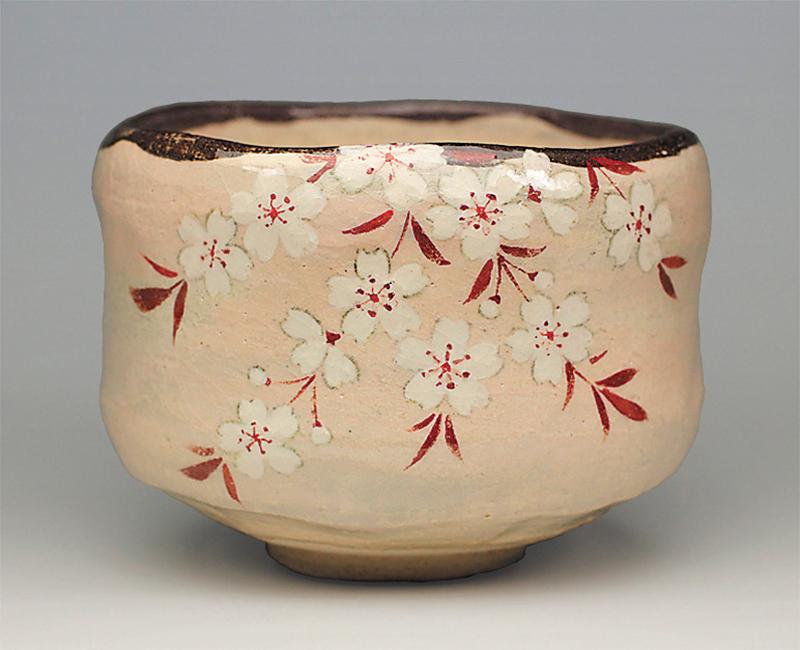 薄墨桜茶碗